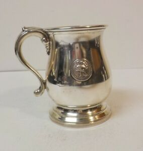Manchester Sterling Silver Cup Mug Paul Delamerie 17th C Reproduction Award