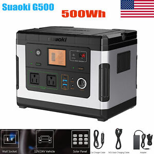 500wh 1377 00mah Solar Power Generator 12v Usb External Sunpower Battery Charger
