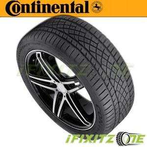 1 X New Continental Extremecontact Dws06 225 45zr17 91w Tires