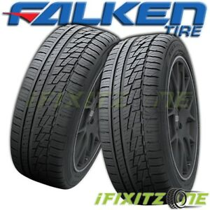 2 Falken Ziex Ze 950 A S 195 65r15 91h True All Season High Performance Tires