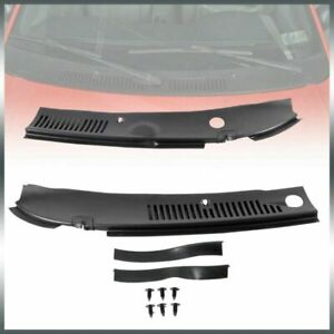 Wiper Cowl Vent Grille Panel Hood Rain For 99 04 Ford Mustang Windshield 2pc