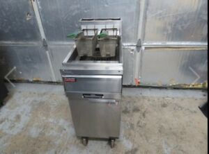 Frymaster Mj35sd Commericial Gas Kitchen Equipment 2 Baskets Included