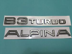 New Emblem Badge B3 Turbo For Bmw Alpina E36 E46 E90 E91 318i 320i 323i