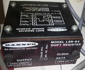 Banner Lsr 64 Lsr64 Shift Register