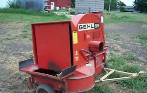 Silage Blower Gehl 99 Works Well And Not Used Much