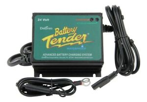 Battery Tender 022 0158 1 Waterproof 24 Volt Power Tender Plus Battery Charger