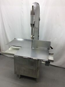 Biro 16 Model 3334 Commercial Butcher Shop Meat Bone Band Saw 3ph we Freight
