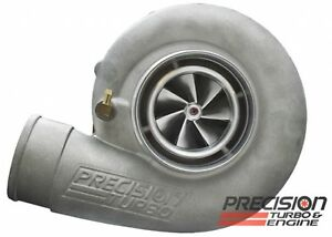Precision Turbo 7275 Gen2 Cea 72mm 1200hp Dbb Ported H T4 81 Exhaust Housing