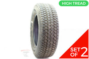 Set Of 2 Driven Once Lt 275 65r18 Goodyear Wrangler At s 113 110s 14 5 32