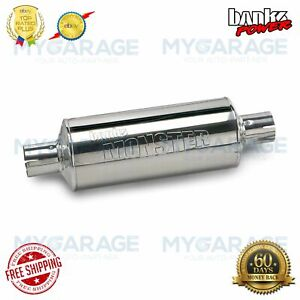 Banks For Ford F 150 Linconl Mark Lt 2004 2008 Power Muffler 3in X 3in 53962