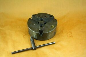 8 Bison 3 jaw Plain Back Lathe Chuck 1527 3139