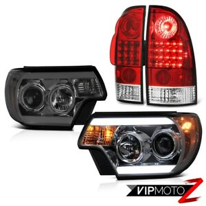 12 15 Toyota Tacoma Prerunner Smokey Headlights Red Clear Tail Lamps Smd Cool