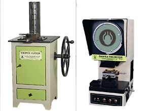V notch Broaching Machine bvu 2s Profile Projector Optical Comparator pb 200