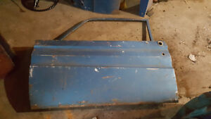 1964 1965 Ford Falcon Mercury Comet Post Coupe Left Door Free U S Shipping