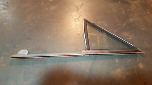 1964 1965 Ford Falcon Mercury Comet Left Rear Door Vent Window Free Us Shipping