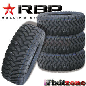 4 Rolling Big Power Rbp Repulsor Mt 31x10 50r15lt 6p 109q All Terrain Mud Tires