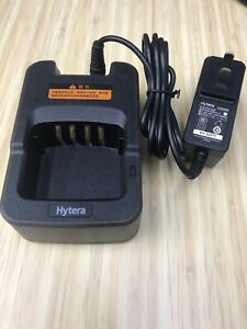 Hytera Pd500 Pd560 Pd700 Pd780 Interphone Charger Ch10a04 t7959 Ys