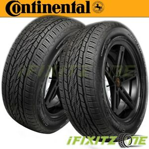 2 Continental Crosscontact Lx20 275 60r18 113h Tires