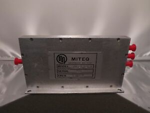 Miteq 3183 1 5 5 0 Rf Radio Frequency Microwave Sma Splitter Divider 5mhz