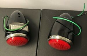 1937 Ford Tail Lights With Led Pair