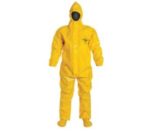 Dupont Br128t Tychem 9000 Encapsulated Level B Suit