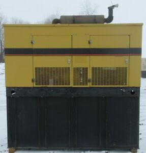 50 Kw Olympian Perkins Diesel Generator Genset Load Bank Tested