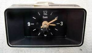 Volvo 240 Clock Early Style 75 80 Tested Working 140 242 244 245 Oem Turbo Ipd