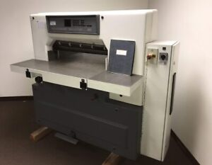Schneider senator 76 Sc 30 Fully Automatic Paper Cutter With Air Table