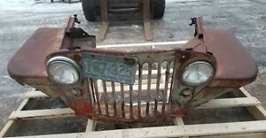 1940 s 1950 s Willys Jeep Grill And Fenders Shipping Included