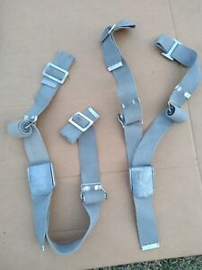 1956 57 58 59 60 61 62 63 Ford Galaxie Thunderbird Factory Optional Seat Belts