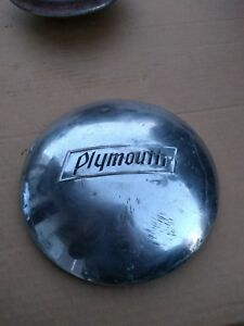 Plymouth Chrome Baby Moon Dog Dish Hubcap 37 38 39 40
