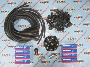 1937 1953 Buick Complete Tune Up Kit With Ignition Wires