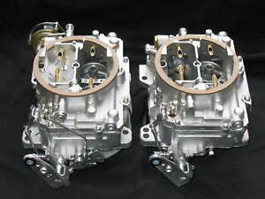 1965 Chevrolet 409 Carter Afb Dual Quad Carburetors 3804s 3361s Restored Show