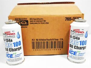 Case 12 Acpro R134a Pag 100 Oil Charge W Ice32 Performance Enhancer Pc 2 Auto Ac