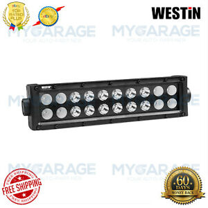 Westin For Automotive B Force 10 60w Dual Row Combo Beam Led Light 09 12212 20c