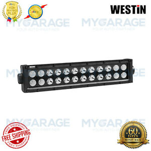Westin For Automotive B Force 12 72w Dual Row Combo Beam Led Light 09 12212 24c