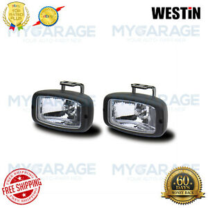 Westin For Automotive Driving Lights Small Rectangular Black Universal 09 0305