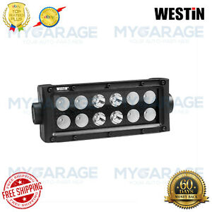 Westin For Automotive B Force 6 36w Dual Combo Beam Led Light Bar 09 12212 12c