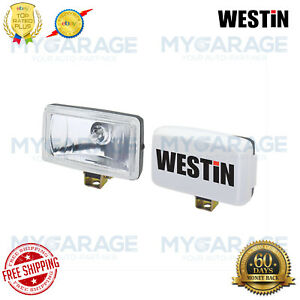 Westin For Automotive Driving Lights Large Rectangular Black Universal 09 0405