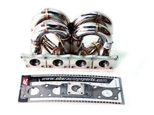 Obx Racing Turbo Header Manifold For 00 05 Vw Golf Mk4 97 05 Audi A4 1 8t Fwd