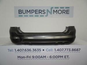 Oem 2003 2008 Toyota Matrix Base W O Spoiler Holes Rear Bumper
