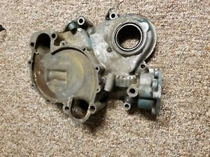 68 74 Amc Jeep Javelin Amx V8 304 Engine Timing Cover W Timing Marks