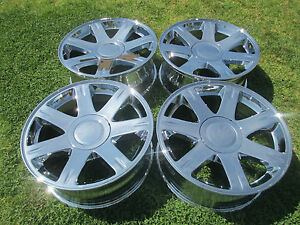 4 17 New Chrysler 300 Oem Chrome Wheels Rims