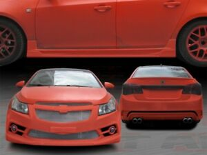 2011 2014 Chevy Cruze Striker Style Full Body Kit By Aitracing front rear sides