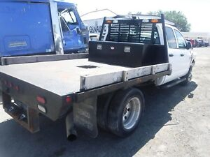 03 09 Dodge Ram Truck 1500 2500 3500 Used Utility Flat Bed Box Short Bed 6 3