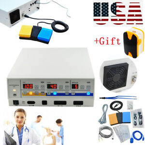 300w Frequency Electrosurgical Unit Diathermy Machine Cautery Electrosurgery Top