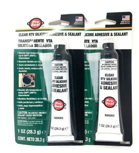 Super Glue Silicone Adhesive And Sealant 500 Degree F Performance pack Of 2