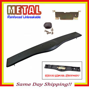 Upgraded Rear Tailgate Handle Garnish For 04 09 Toyota Prius Non Painted Black