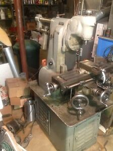 Hardinge Milling Machine Vertical Mill 3 Phase 220 Volt power Feed Pick up Only