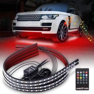 Ambother Car Neon Underglow Lights Waterproof Rgb Led Strip Light Multi colored